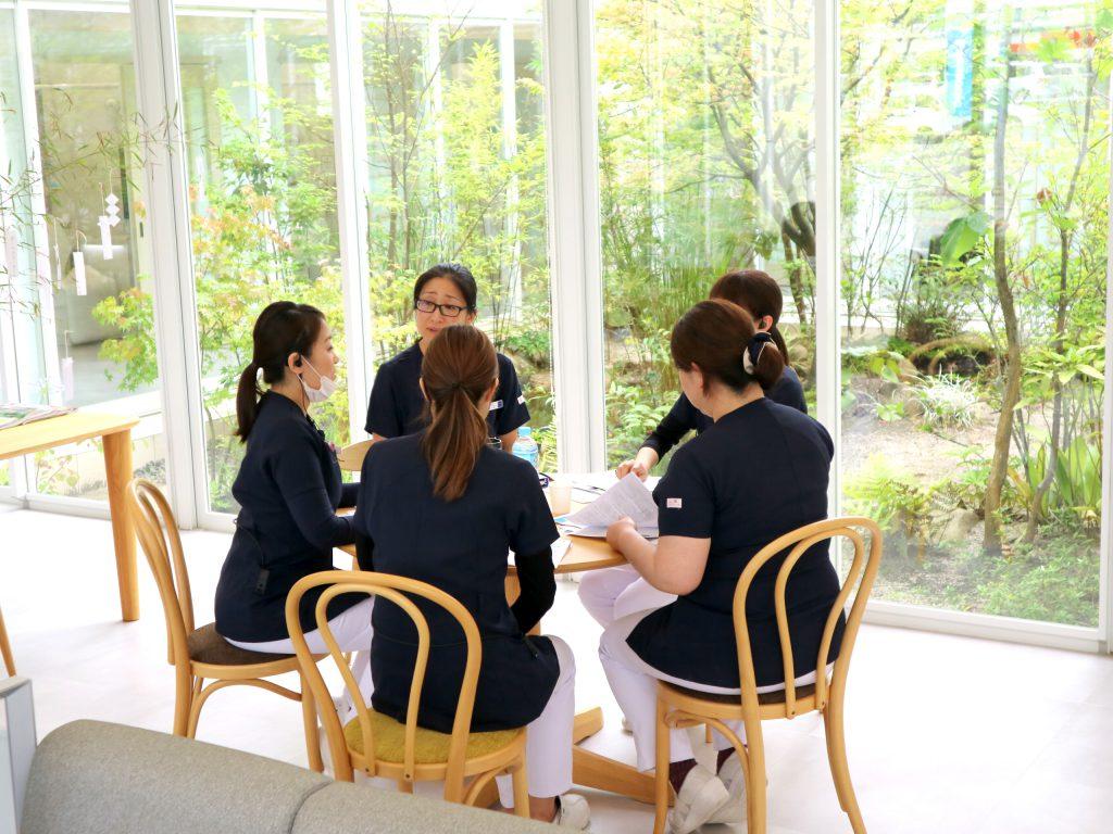 歯科衛生士 勉強会の様子