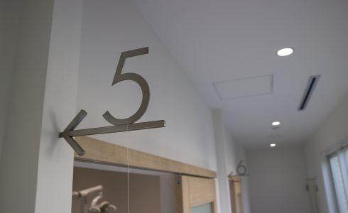 御笠川デンタルクリニック ヒカリの5診療室