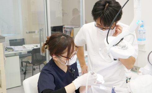 御笠川デンタルクリニック ヒカリの衛生士実習