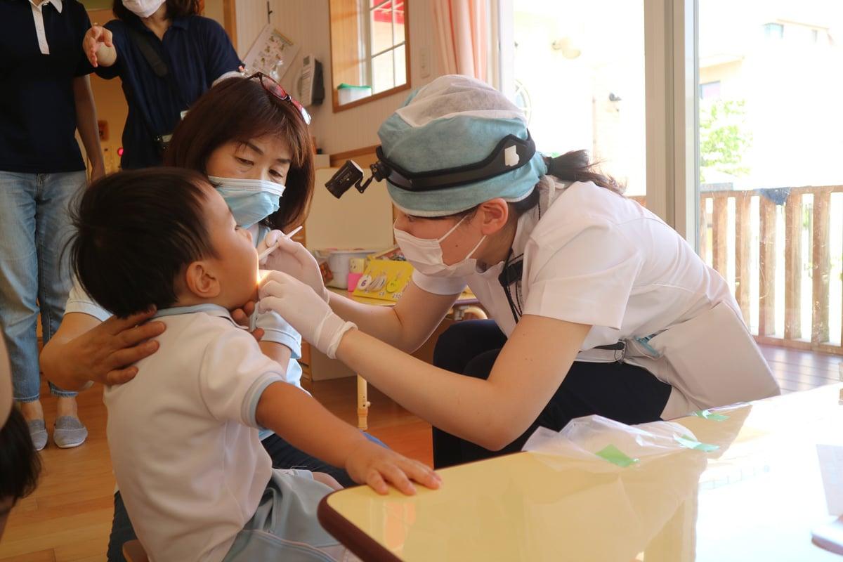 医療法人ゼロMT 御笠川デンタルクリニック ヒカリの保育園歯科検診